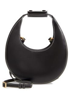 STAUD Mini Moon Leather Bag