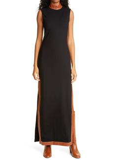 STAUD Noir Dress