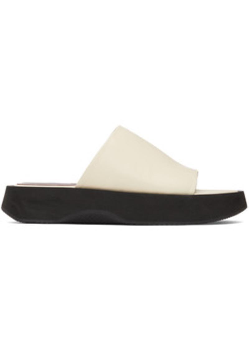 Staud Off-White Alpine Sandals