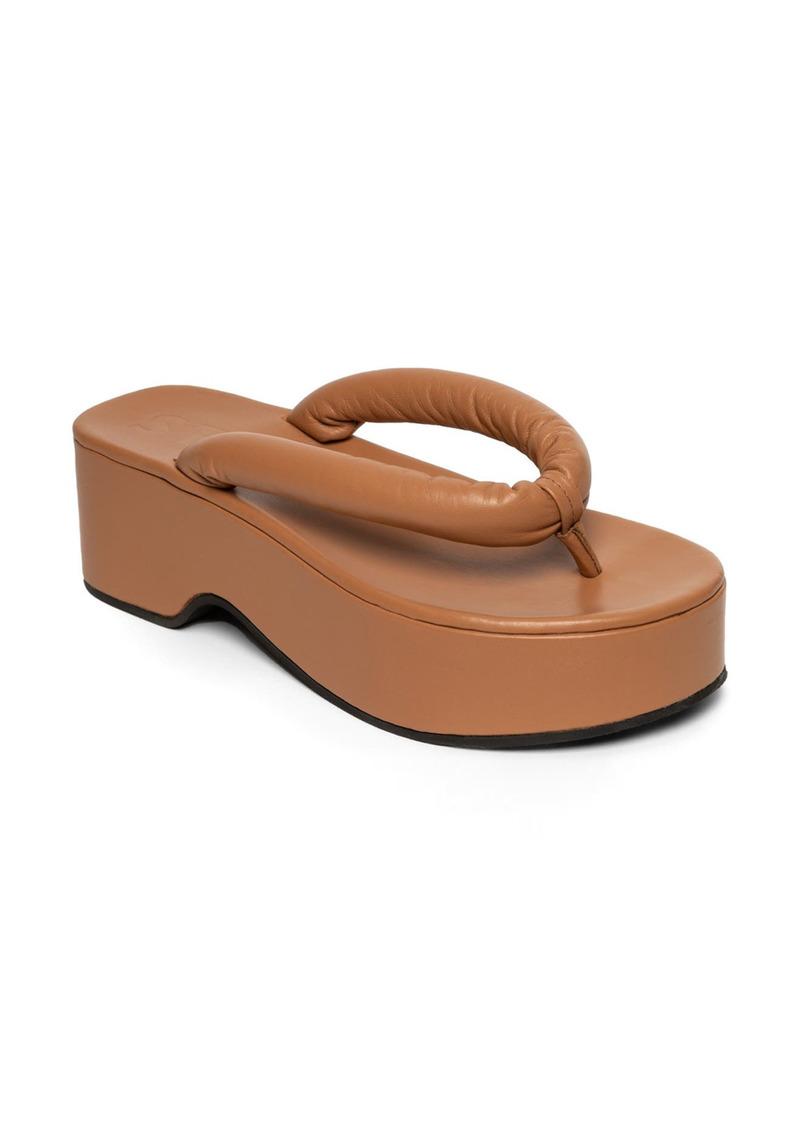 STAUD Rio Platform Flip Flop (Women)
