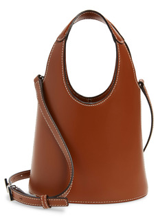 STAUD Timmy Leather Crossbody Bucket Bag