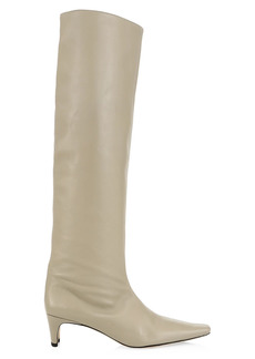 STAUD Wally Tall Leather Boots