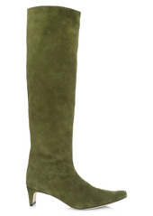 STAUD Wally Tall Suede Boots