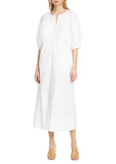 Women's Staud Vincent Puff Sleeve Maxi Dress
