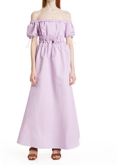Women's Staud Vine Off The Shoulder Dress