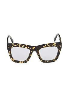 Stella McCartney 48MM Core Square Optical Glasses