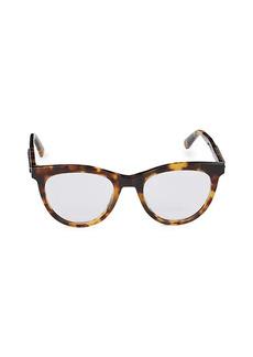 Stella McCartney 49MM Core Oval Optical Glasses