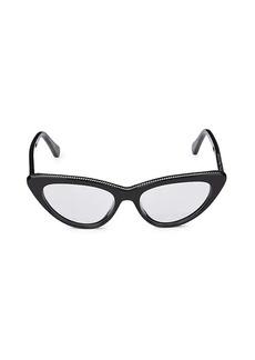 Stella McCartney 50MM Cat Eye Core Optical Glasses