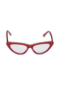 Stella McCartney 50MM Core Cat Eye Optical Glasses