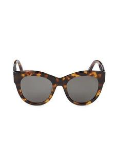 Stella McCartney 51MM Core Cat Eye Sunglasses