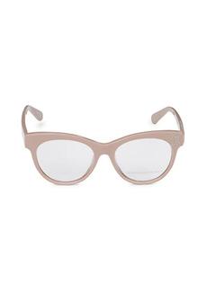 Stella McCartney 52MM Core Cat Eye Optical Glasses