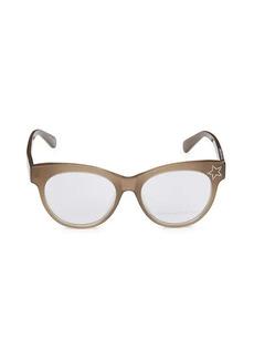Stella McCartney 52MM Oval Optical Glasses