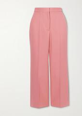 Stella McCartney Carlie Cropped Twill Flared Pants