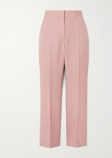 Stella McCartney Carlie Cropped Woven Straight-leg Pants