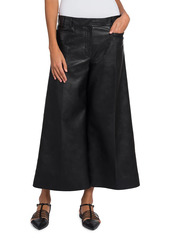 Stella McCartney Charlotte Faux-Leather Trousers