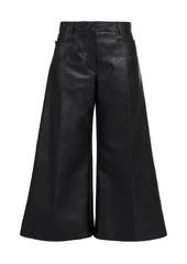 Stella McCartney Charlotte Faux Leather Culottes