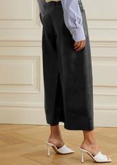 Stella McCartney Charlotte Vegetarian Leather Culottes