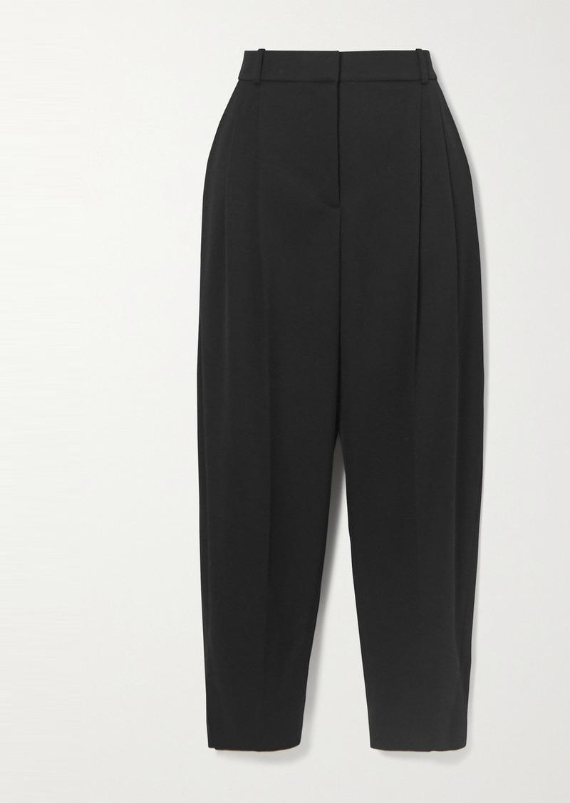 Stella McCartney Dawson Pleated Wool Tapered Pants