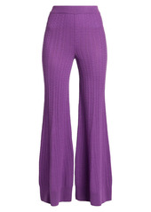 Stella McCartney Flared Virgin Wool Pants