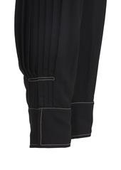Stella McCartney Fluid Viscose Straight Leg Pants