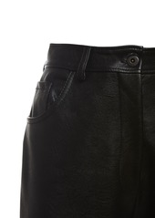 Stella McCartney High Waist Faux Leather Pants