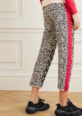 Stella McCartney Intarsia Knitted Track Pants
