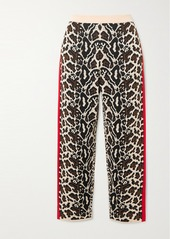 Stella McCartney Intarsia Knitted Track Pants
