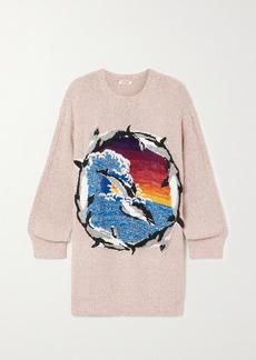 Stella McCartney Intarsia Organic Cotton-blend Sweater