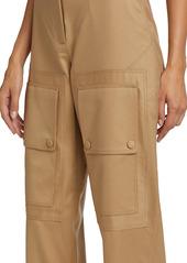 Stella McCartney Kaiya Ankle Crop Trousers