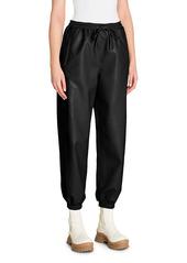 Stella McCartney Kira Faux Leather Joggers