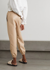 Stella McCartney Kira Vegetarian Leather Track Pants