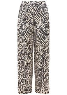 Stella McCartney Maggie Twisting Silk Satin Pants
