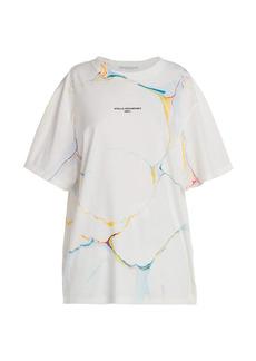 Stella McCartney Marbled Logo T-Shirt