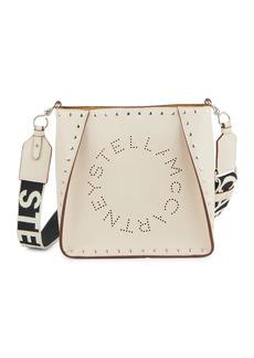 Stella McCartney Mini Stella Logo Studded Shoulder Bag