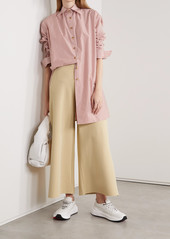 Stella McCartney Net Sustain Stretch-knit Culottes