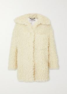 Stella McCartney Oversized Faux Shearling Coat