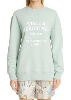 Stella McCartney 23 OBS Logo Organic Cotton Sweatshirt (Unisex)