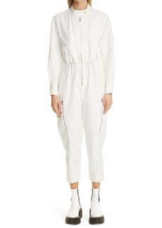 Stella McCartney Alessia Compact Long Sleeve Jumpsuit