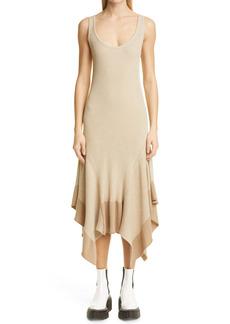 Stella McCartney Asymmetrical Knit Midi Dress