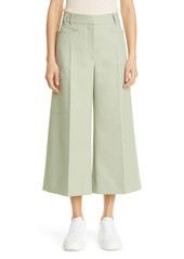 Stella McCartney Audrey Crop Wide Leg Trousers