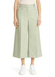 Stella McCartney Audrey Crop Wide Leg Trousers