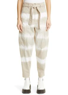 Stella McCartney Bamboo Safari Tie Dye Pants