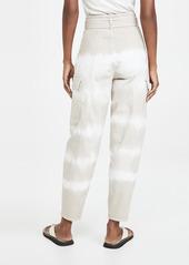 Stella McCartney Bamboo Safari Tie Dye Trousers