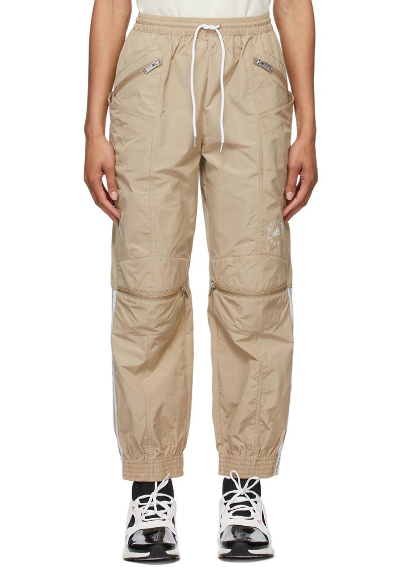 Stella McCartney Beige adidas by Stella McCartney Taffeta Lounge Pants