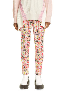 Stella McCartney Christine Floral Print Silk Pants