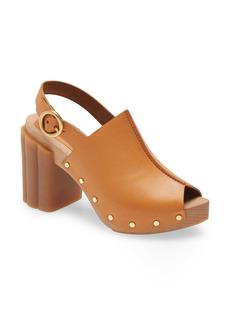 Stella McCartney Daisy Slingback Platform Sandal (Women)