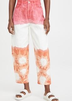Stella McCartney Fluo Wash Trousers