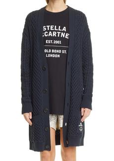 Stella McCartney Long Aran Cardigan