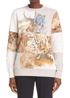 Stella McCartney Nature Patchwork Sweatshirt