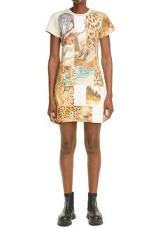 Stella McCartney Nature Patchwork T-Shirt Dress